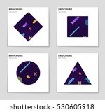 abstract vector layout... | Shutterstock .eps vector #530605918