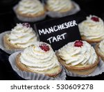 traditional manchester tarts... | Shutterstock . vector #530609278