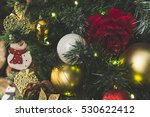 festive background from... | Shutterstock . vector #530622412