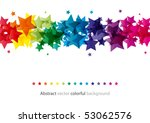 abstract star colorful...