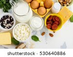 group of products rich of... | Shutterstock . vector #530640886
