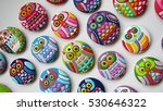 owl shaped   colorful unique... | Shutterstock . vector #530646322