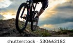 cyclist riding the bike down... | Shutterstock . vector #530663182