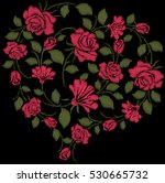 embroidries   Shutterstock .eps vector #530665732