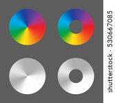 Radial Gradient Vector Circle...