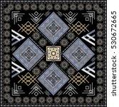 seamless ethnic pattern.... | Shutterstock .eps vector #530672665