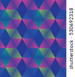 vector color pattern. geometric ... | Shutterstock .eps vector #530692318
