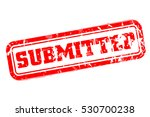 submitted rubber stamp vector... | Shutterstock .eps vector #530700238