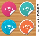 round stickers or website... | Shutterstock .eps vector #530704822