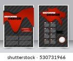 abstract flyer design... | Shutterstock .eps vector #530731966