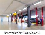 auto repair shop in bokeh ... | Shutterstock . vector #530755288