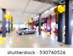 auto repair shop in bokeh ... | Shutterstock . vector #530760526