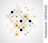 vector abstract background... | Shutterstock .eps vector #530781622