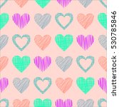 seamless vector  pattern with... | Shutterstock .eps vector #530785846