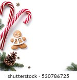 christmas holiday decoration... | Shutterstock . vector #530786725