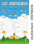 vector design elements for... | Shutterstock .eps vector #530788246