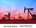 oil drilling rig | Shutterstock . vector #530789452