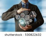 reaching images streaming ...   Shutterstock . vector #530822632