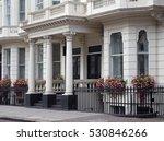 elegant london townhouses | Shutterstock . vector #530846266