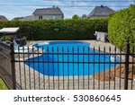 swimming pool. | Shutterstock . vector #530860645