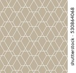 Stock photo abstract geometric pattern with lines a seamless background graphic modern pattern 530864068