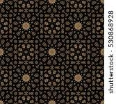 seamless islamic moroccan...   Shutterstock .eps vector #530868928