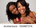 african american mother and... | Shutterstock . vector #530887576