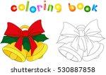 Christmas Bells. Coloring Book...