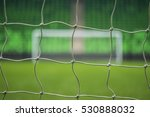 beach soccer football goal... | Shutterstock . vector #530888032