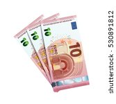 thirty euro in bundle of... | Shutterstock .eps vector #530891812