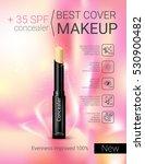 concealer stick ads. vector... | Shutterstock .eps vector #530900482