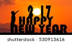 new year 2017 concept  ... | Shutterstock . vector #530913616