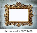 Beautiful Golden Baroque Frame...