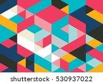 vector of modern geometric... | Shutterstock .eps vector #530937022