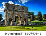 Colosseum In Rome Italy  ...