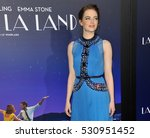 Small photo of Emma Stone at the Los Angeles premiere of 'La La Land' held at the Mann Village Theatre in Westwood, USA on December 6, 2016.
