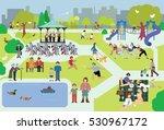 park life | Shutterstock .eps vector #530967172