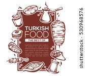 Turkish Food  Linear Template...