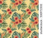 watercolor seamless pattern... | Shutterstock . vector #530972332