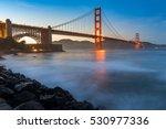 golden gate bridge in the best...   Shutterstock . vector #530977336