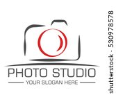 photo studio logo design... | Shutterstock .eps vector #530978578