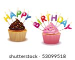 happy birthday | Shutterstock .eps vector #53099518