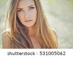 beautiful woman | Shutterstock . vector #531005062