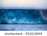 glaciers of polar caps of the... | Shutterstock . vector #531013045