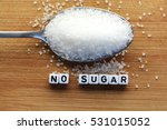 no sugar text from tiled letter ... | Shutterstock . vector #531015052