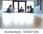 multi ethnic business people... | Shutterstock . vector #531027256