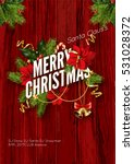merry christmas party... | Shutterstock .eps vector #531028372