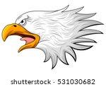 vector illustration of eagle... | Shutterstock .eps vector #531030682