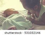 sister fragrance for younger...   Shutterstock . vector #531032146