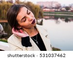 portrait of sensual young... | Shutterstock . vector #531037462